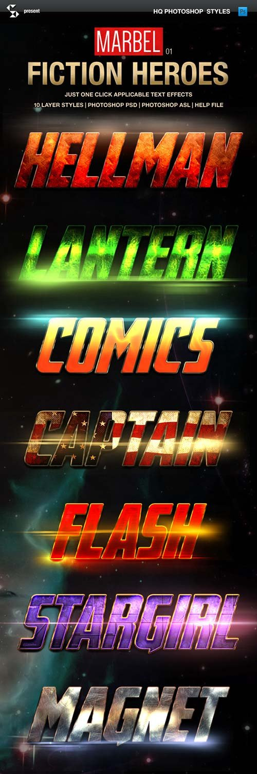 GraphicRiver Blockbuster Heroes Style Text Effects 01