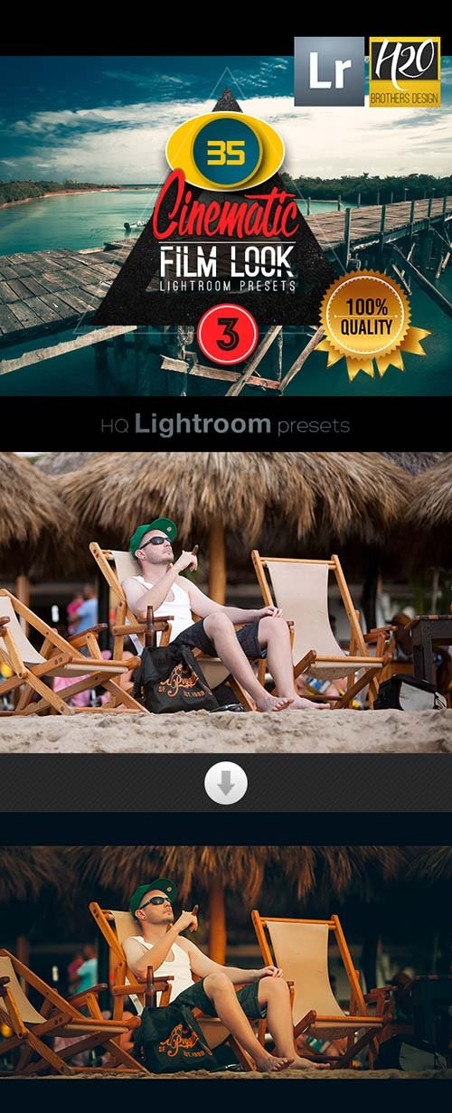 GraphicRiver Cinematic Film Look Lightroom Presets VOL 3