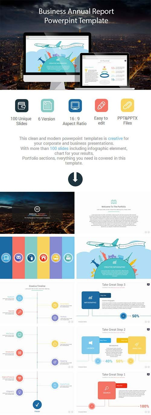 GraphicRiver Business Annual Report