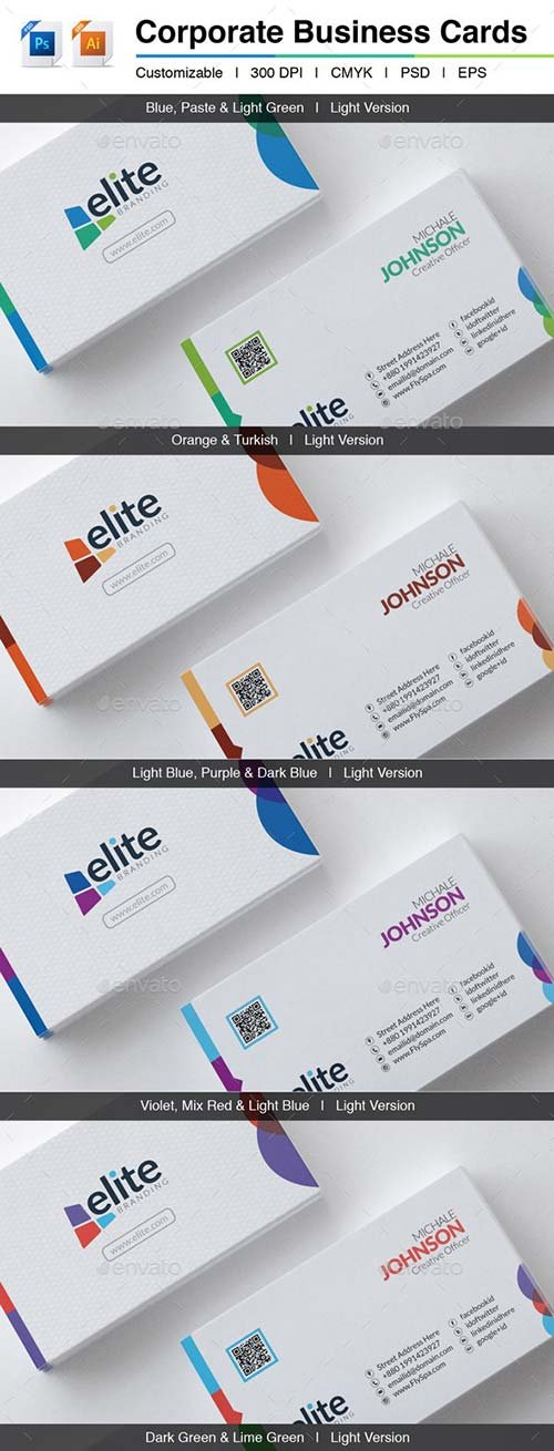 GraphicRiver Elite | Corporate Business Cards