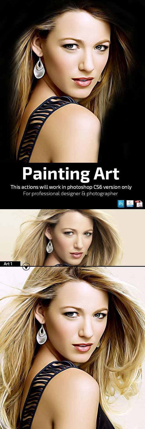 GraphicRiver Painting Art