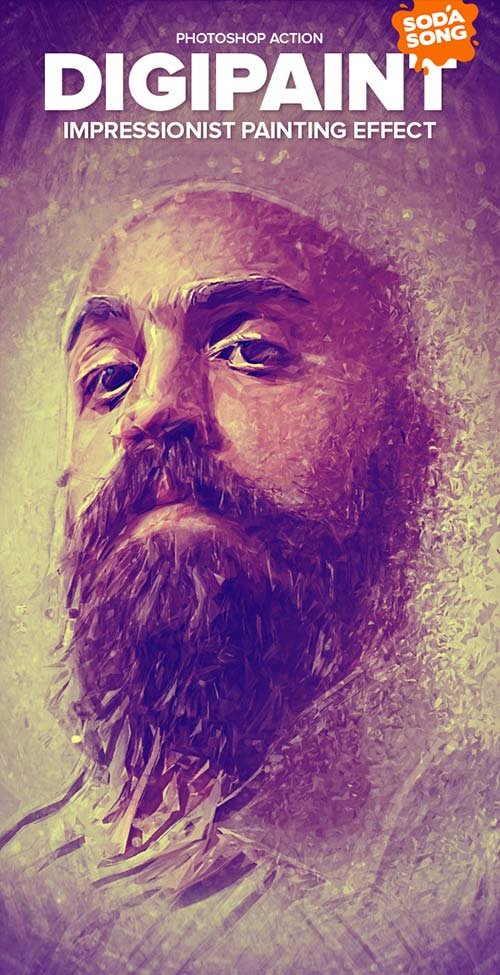 GraphicRiver DigiPaint - Impressionist Painting Effect
