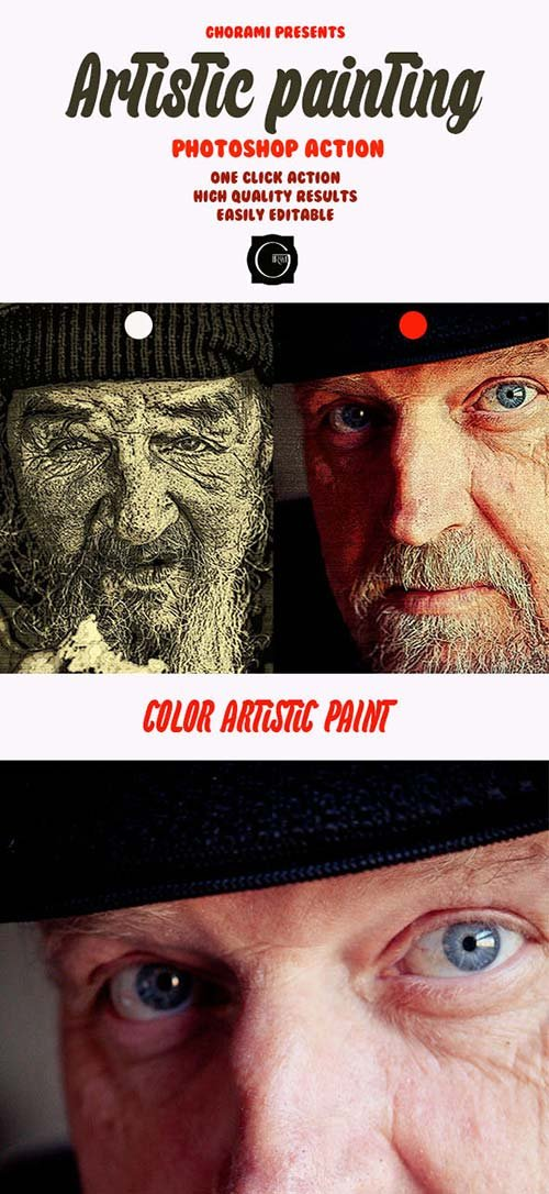 GraphicRiver Artistic Painting Action