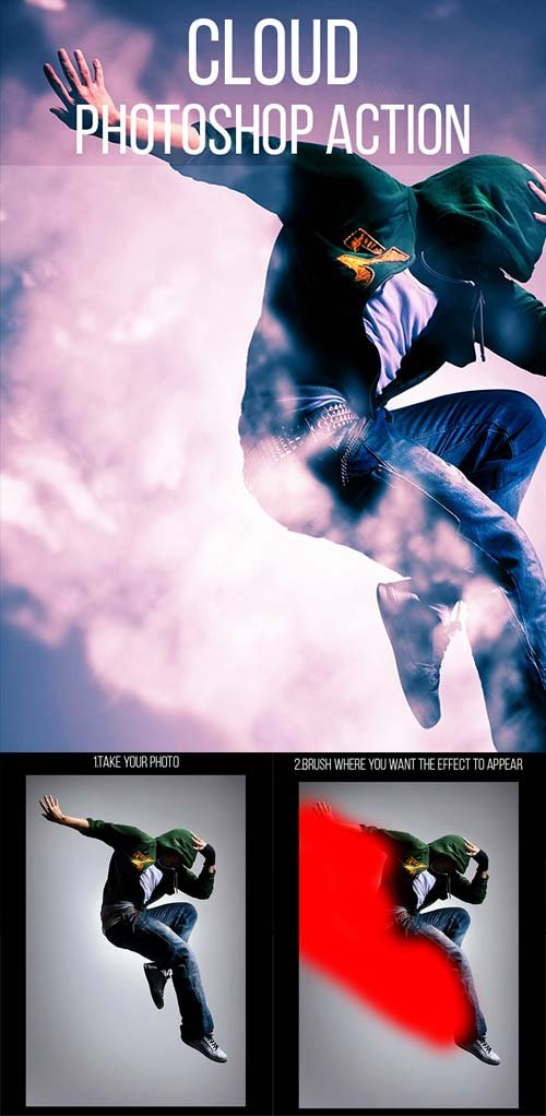 GraphicRiver Cloud Photoshop Action
