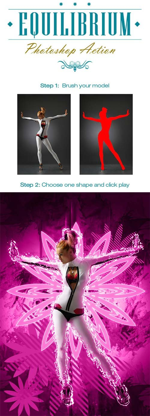 GraphicRiver Equilibrium Photoshop Action