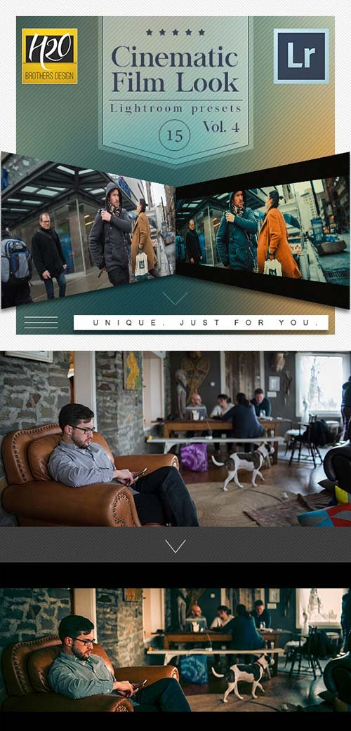 GraphicRiver 15 Cinematic Film Look Lightroom Presets VOL.4