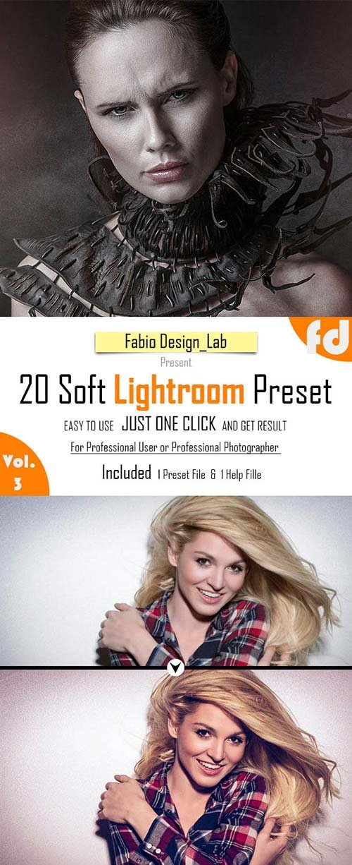 GraphicRiver 20 Soft Lightroom Preset Vol.3