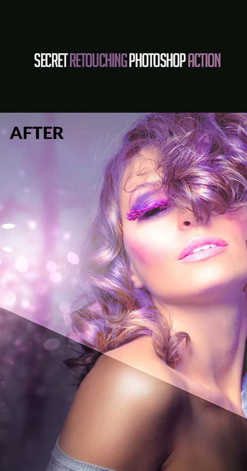 GraphicRiver Secret Retouching Photoshop Action