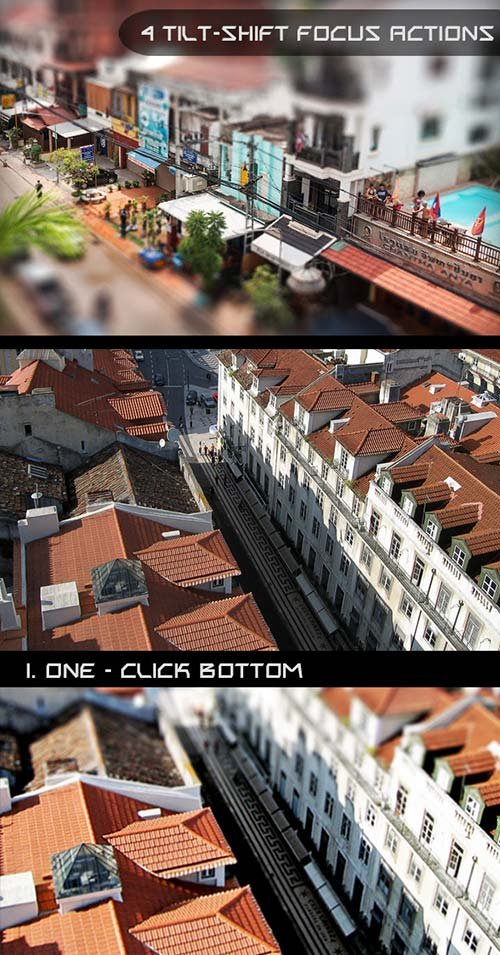 GraphicRiver Tilt Shift Focus Actions
