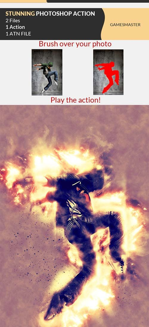 GraphicRiver Stunning Photoshop Action