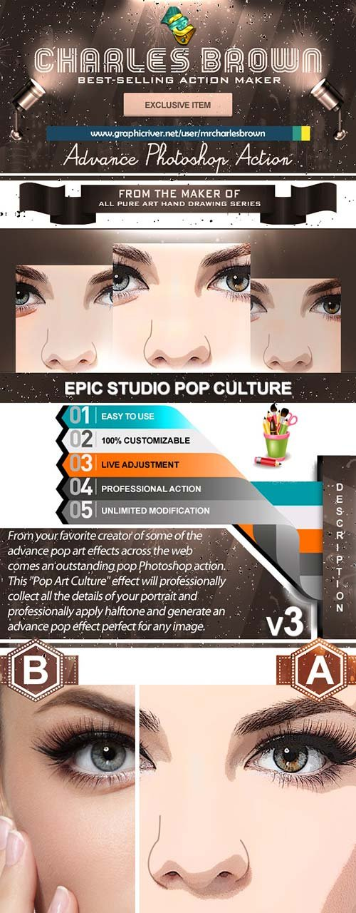 GraphicRiver Epic Studio Pop Culture 3