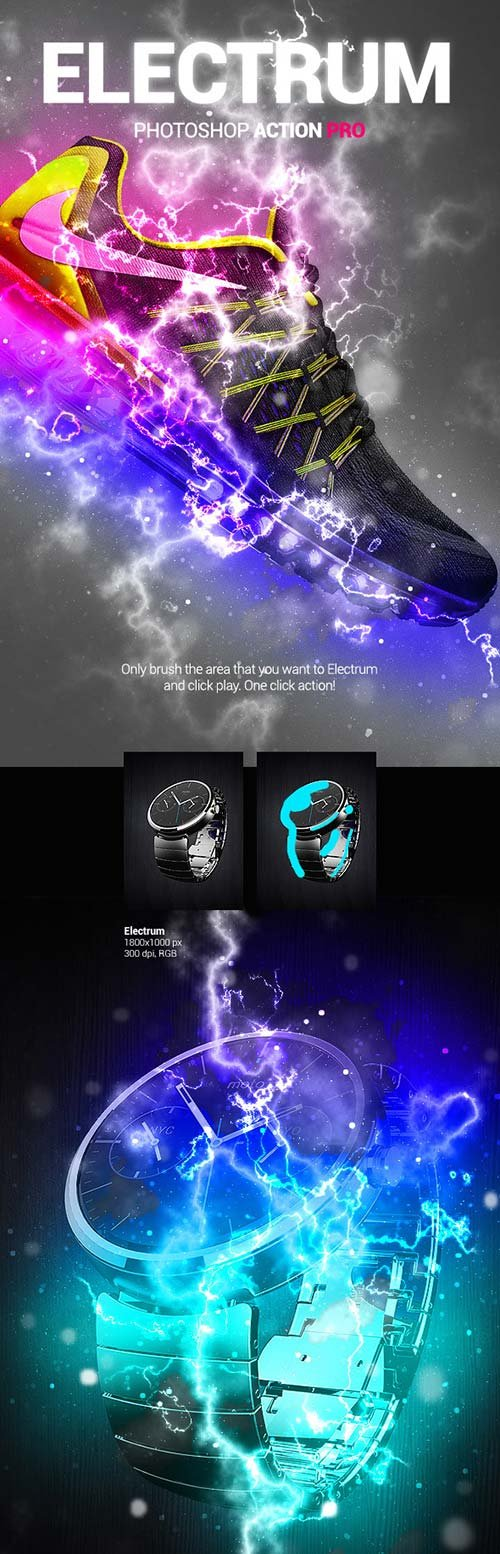 GraphicRiver Electrum PS Action