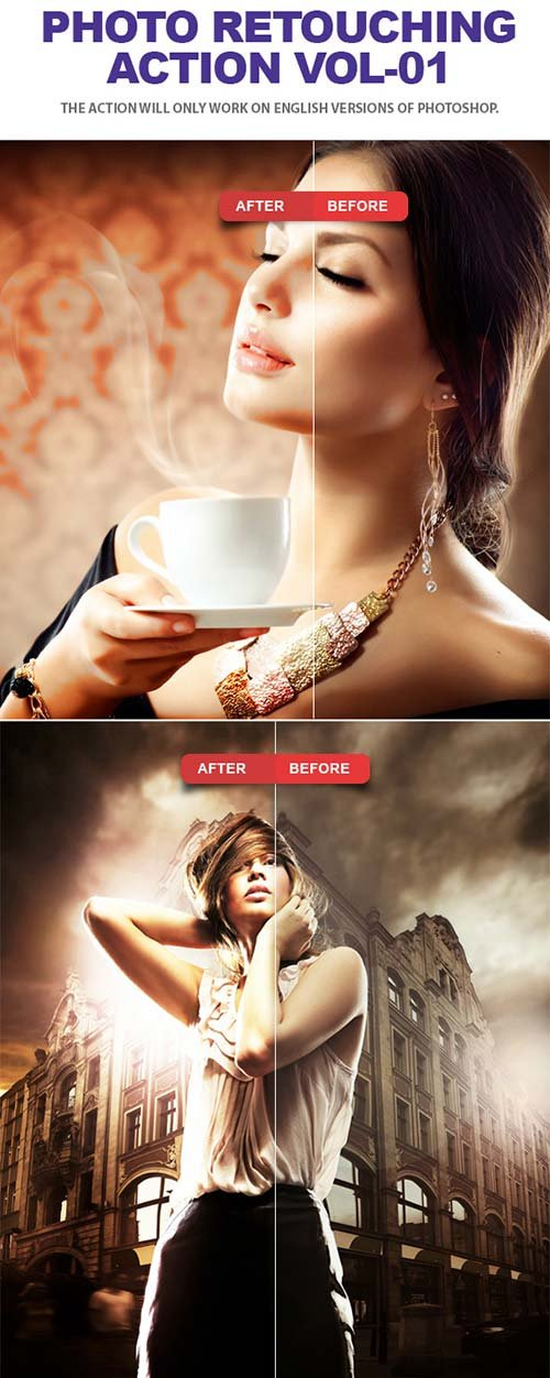 GraphicRiver Photo Retouching Photoshop Action Vol-01