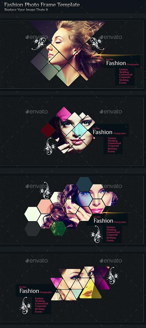 GraphicRiver Fashion Photo Frame Template
