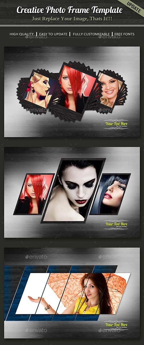 GraphicRiver Photo Frame Template 10527308