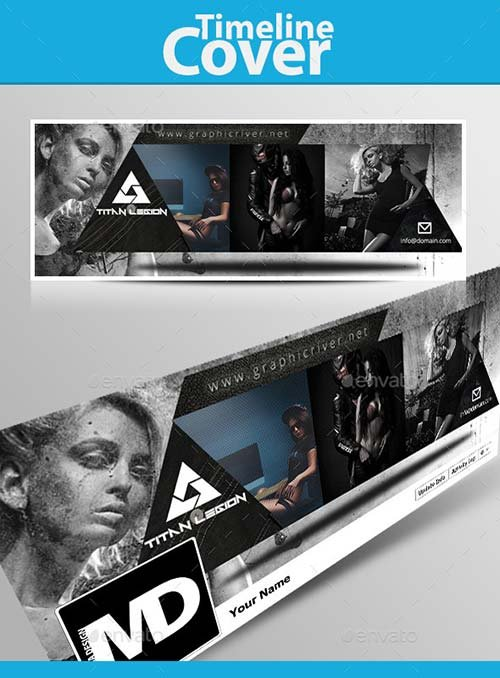 GraphicRiver Titan Fashion Facebook Timeline Cover