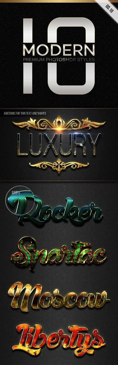 GraphicRiver 10 Modern Styles GO.10