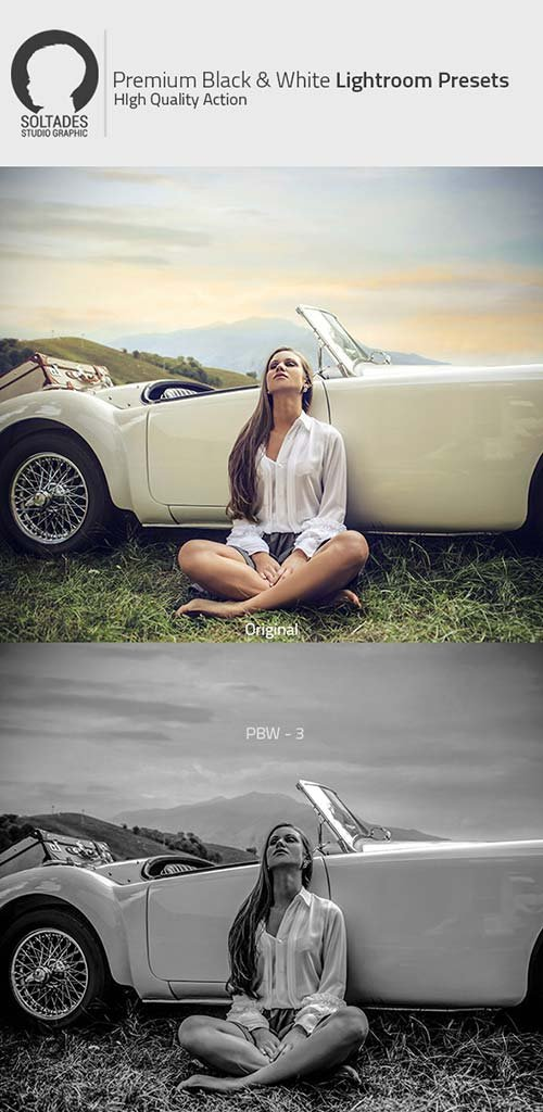 GraphicRiver Premium Black & White Lightroom Preset