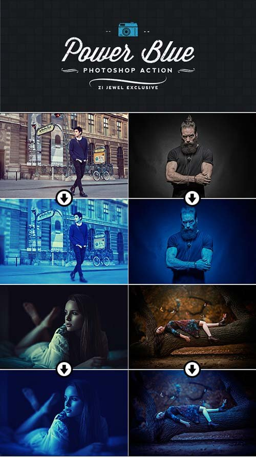 GraphicRiver Power Blue Action
