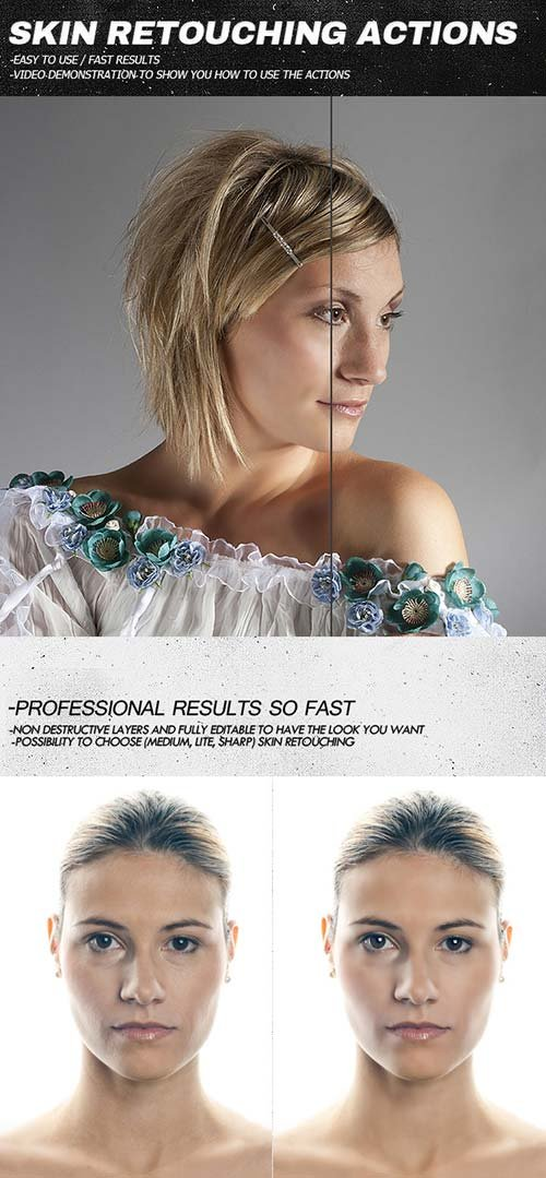GraphicRiver Skin Retouching Actions