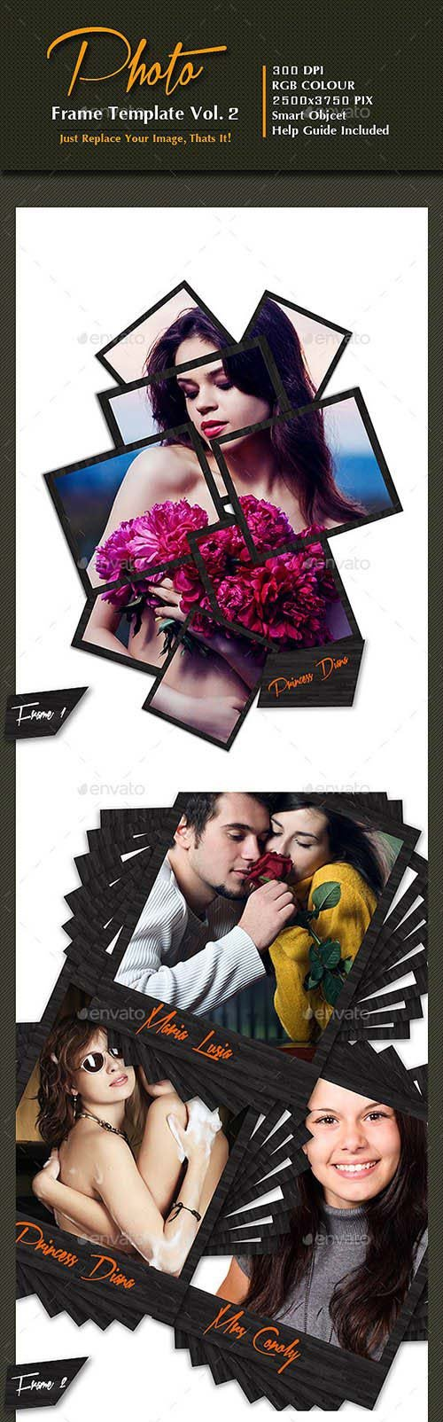 GraphicRiver Photo Frame Template Vol-2