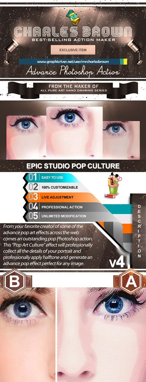 GraphicRiver Epic Studio Pop Culture 4