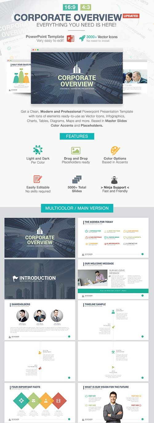 GraphicRiver Corporate Overview Powerpoint Template