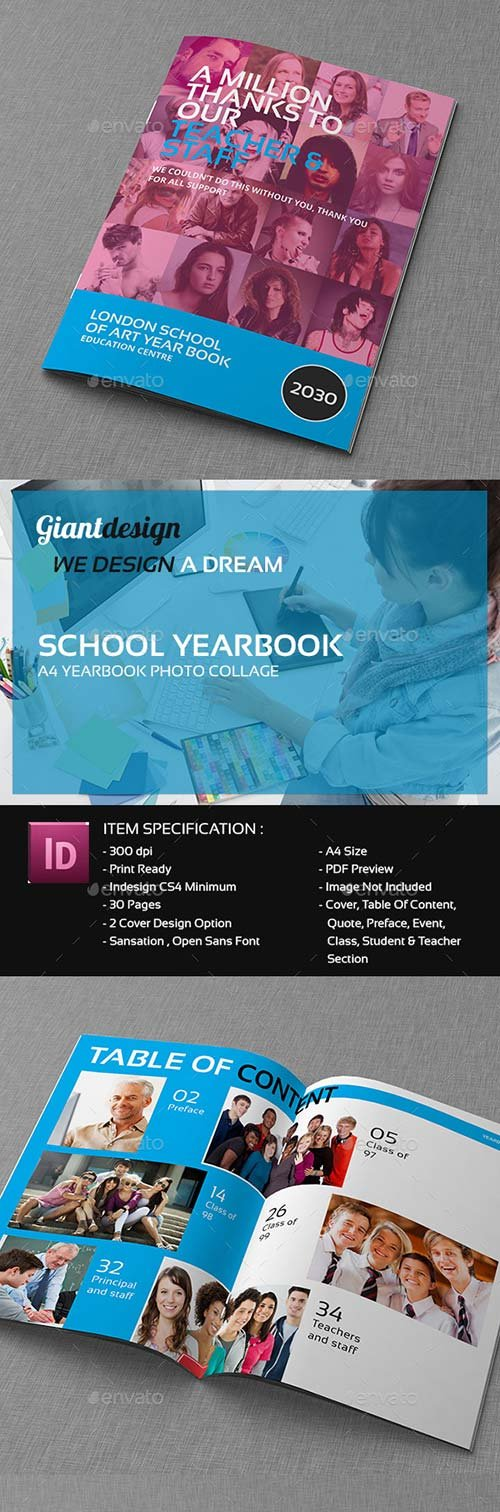 GraphicRiver School Yearbook