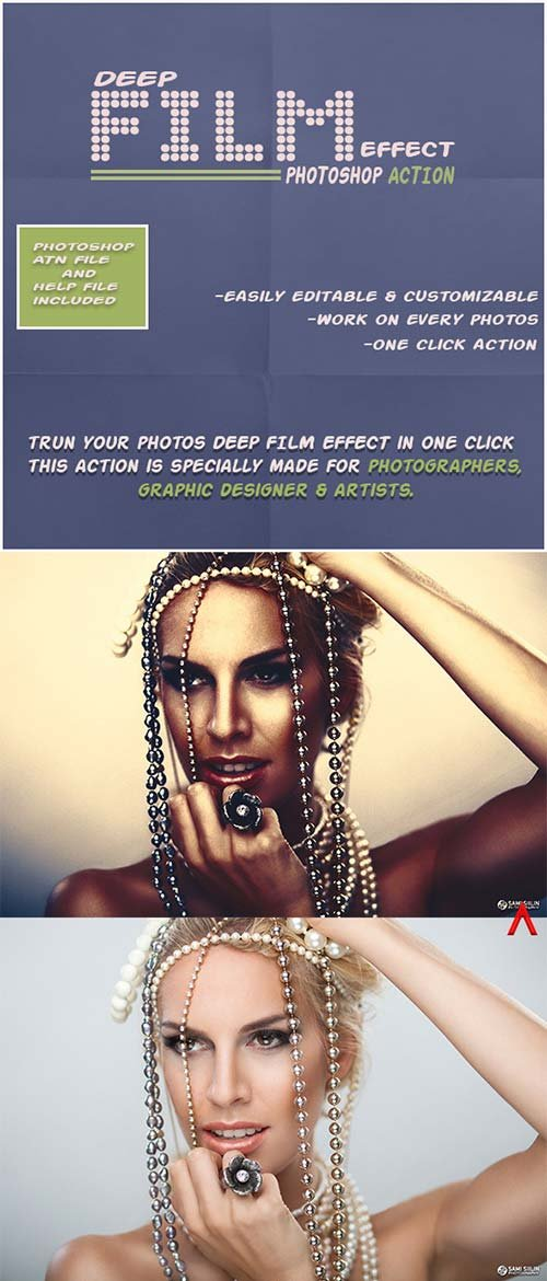 GraphicRiver Deep Film Effect Photoshop Action