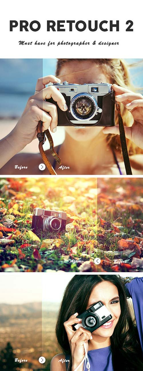 GraphicRiver Pro Retouching Photoshop Action 2