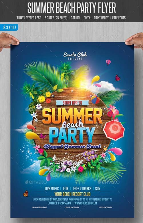 GraphicRiver Summer Beach Party