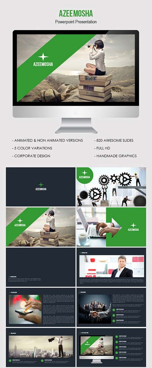 GraphicRiver Azeemosha - Powerpoint Presentation Template