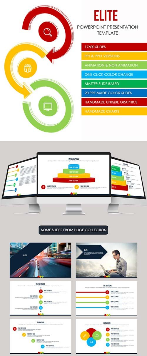 GraphicRiver Elite - Multipurpose Presentation Template