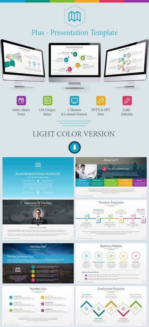 GraphicRiver Plus Presentation Template