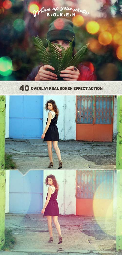 GraphicRiver Bokeh Photo Warmer Action