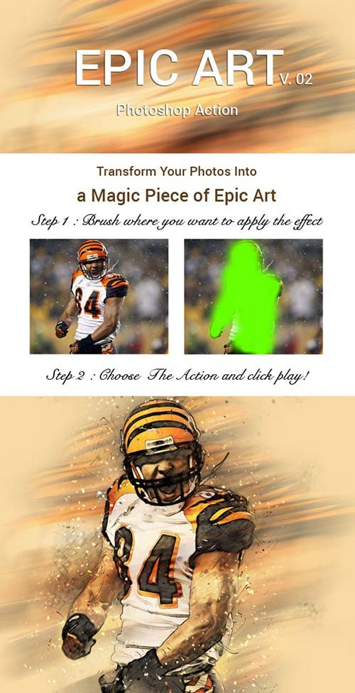 GraphicRiver Epic Art 2 Photoshop Action
