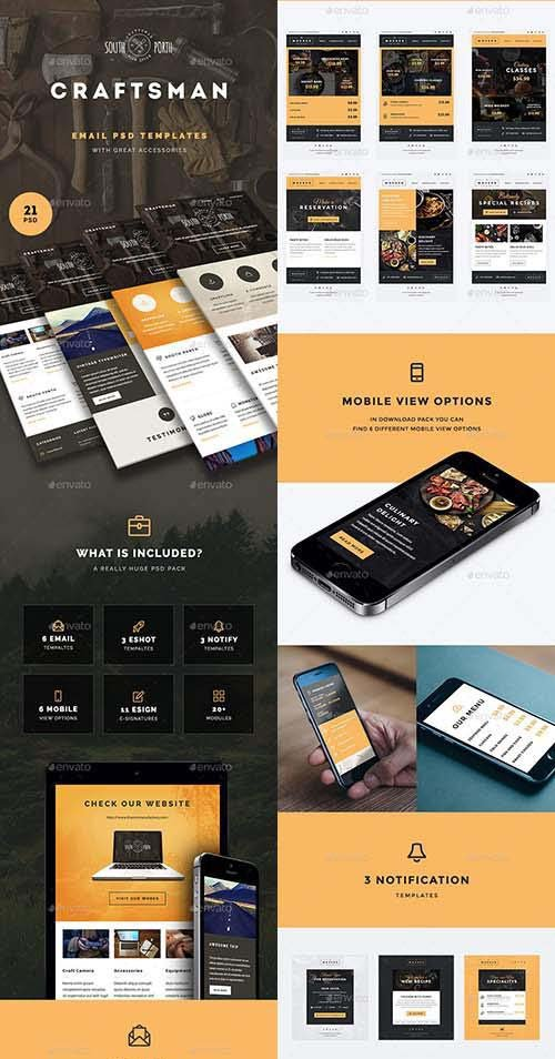 GraphicRiver ThemeMill Email Bundle
