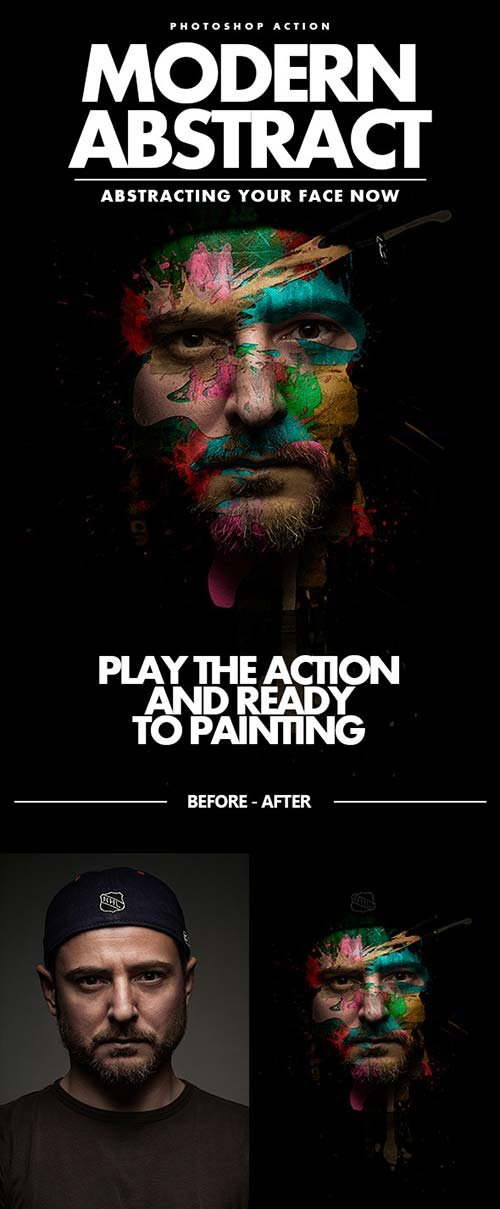 GraphicRiver Modern Abstract Actions