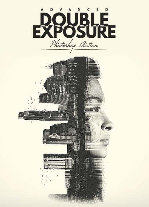 GraphicRiver Advanced Double Exposure - Photoshop Action