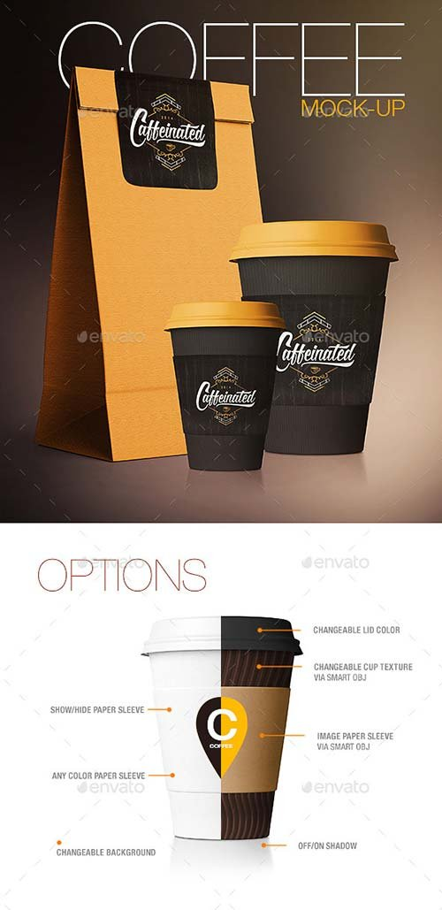 GraphicRiver Coffee Cup / Coffee Package Mock-Up