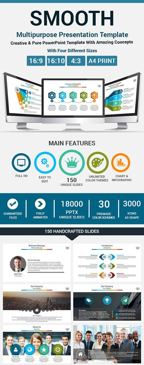 GraphicRiver Smooth PowerPoint Presentation Template