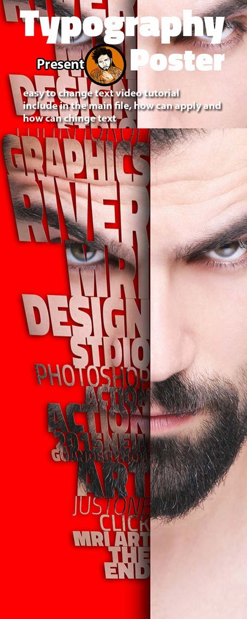 GraphicRiver Typography Poster Action