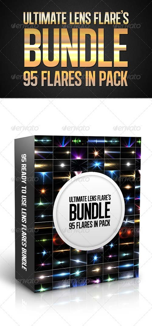 GraphicRiver Ultimate Lens Flares Bundle
