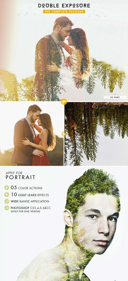 GraphicRiver Double Exposure - The Complete Package