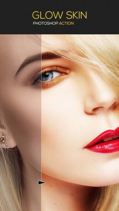 GraphicRiver Glow Skin Photoshop Action