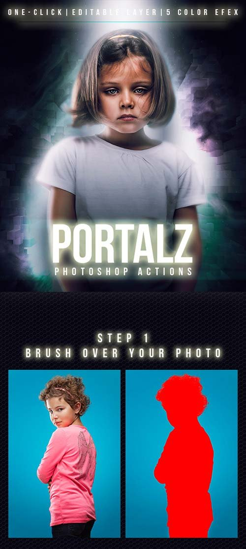 GraphicRiver Portalz Photoshop Actions