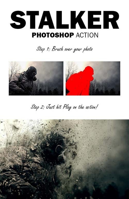 GraphicRiver Stalker Photoshop Action