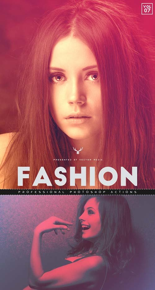 GraphicRiver Fashion - Photoshop Actions [Vol.7]