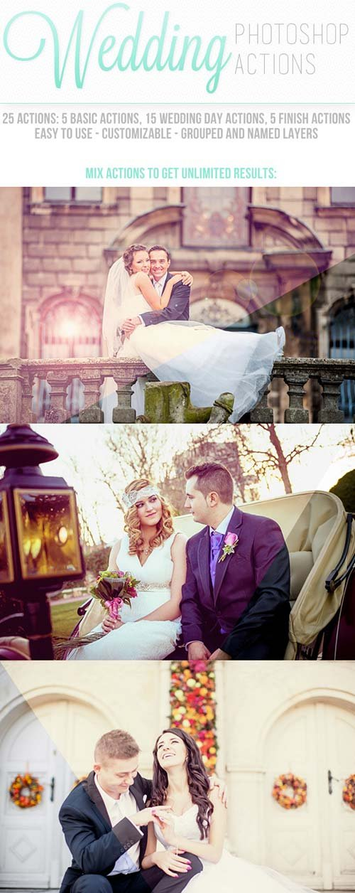GraphicRiver Wedding Photoshop Actions