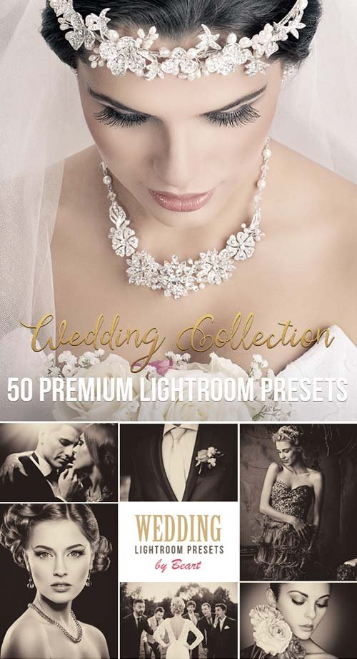 GraphicRiver 50 Premium Wedding Lightroom Presets